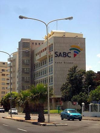 South African Broadcasting Corporation - SABC offices in Sea Point, Cape Town.