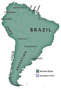 Unasur member states.