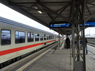 Itzehoe station - Intercity to Dresden Hbf