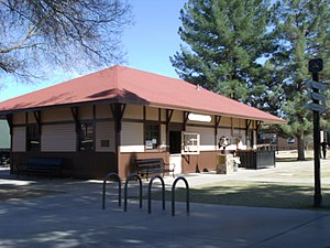 Peoria, Arizona - Peoria Railroad Depot – built in 1895.