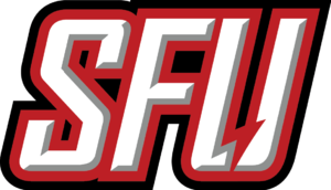 Saint Francis Red Flash men's basketball - Image: SFU Red Flash wordmark