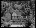 SITE OVERVIEW, LOOKING SOUTH - The Lace House, 161 Main Street, Black Hawk, Gilpin County, CO HABS COLO,24-BHAWK,2-1.tif