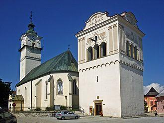 Poprad - Church in Spišská Sobota