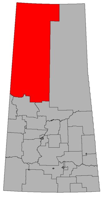 Athabasca (Saskatchewan provincial electoral district) - Image: SK 2016 Athabasca