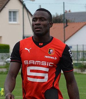 Abdoulaye Sané - Image: SM Caen B Stade rennais B 20150913 Abdoulaye Sané
