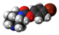 SSR-180,711 molecule spacefill.png