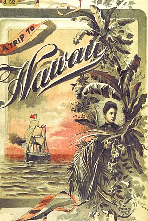 Charles Warren Stoddard - Image extracted A Trip to Hawaii (edition 1892)