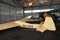 SZD-9 bis 1D Bocian Karhulan ilmailukerhon lentomuseo 5.JPG