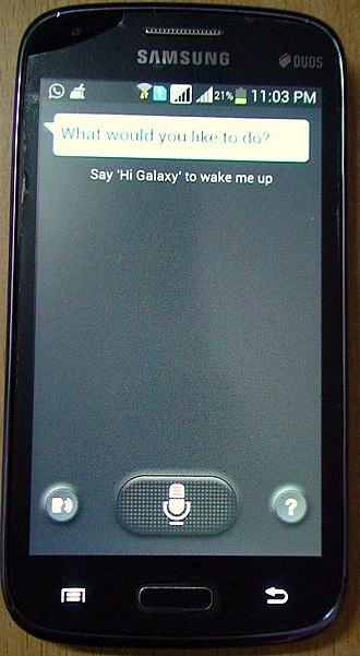 Samsung Galaxy Core - S Voice on Samsung Galaxy Core.