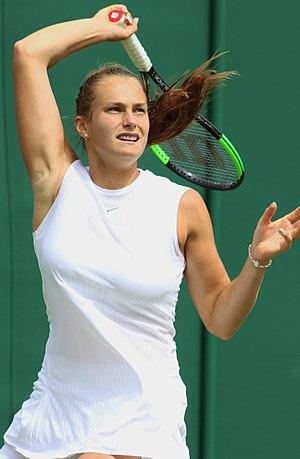 Aryna Sabalenka - Sabalenka at 2017 Wimbledon Championships
