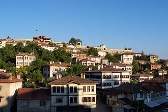 Safranbolu was added to the list of UNESCO World Heritage Sites in 1994 due to its well-preserved Ottoman era houses and architecture. Safranbolu traditional houses.jpg