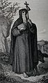 Saint Antony. Steel engraving by Rittinghaus after C. Clafen Wellcome V0031580.jpg