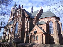 Saint John the Baptist church in Pawłów, Poland.jpg