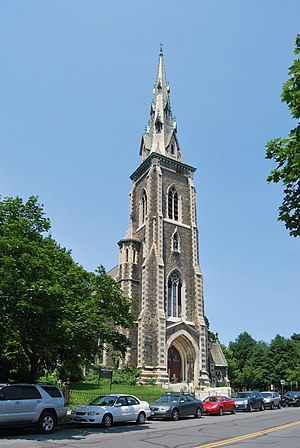 Saint Joseph's Church (Albany, New York) - St. Joseph's Church in Ten Broeck Triangle