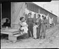 Salinas, California. Persons of Japanese ancestry at one of the assembly centers where they lived t . . . - NARA - 536182.tif