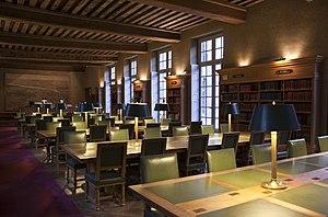 Bibliothèque historique de la ville de Paris - The reading room