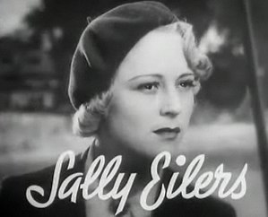 Sally Eilers - from the trailer for the film Pursuit (1935)