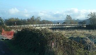 Salt River (California) - The 1994 Dillon Road bridge