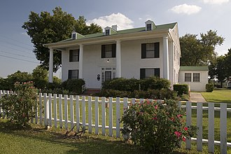 National Register of Historic Places listings in Fannin County, Texas - Image: Sam Rayburn House Museum in 2009