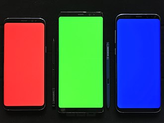 Universal Display Corporation - The Samsung Galaxy smartphones, with Super AMOLED Plus screens