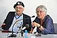 Samuel Willenberg Ada Willenberg 70th anniversary of Treblinka revolt.JPG