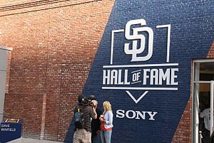 San Diego Padres Hall of Fame - Opening of Padres Hall of Fame at Petco Park on July 1, 2016
