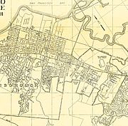 San Mateo Map 1938