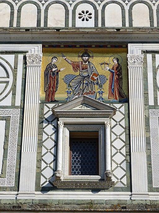 San Miniato al Monte, exterior, Florencia, Italia, 2019 07