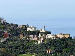 San Rocco di Camogli-panorama da Ruta