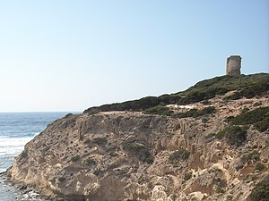 San Vero Milis - The tower of Cape Mannu