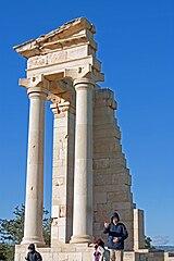 Sanctuary of Apollo Hylates temple 2010 3