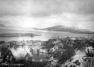 Sandnessjøen - Sandnessjøen in 1935