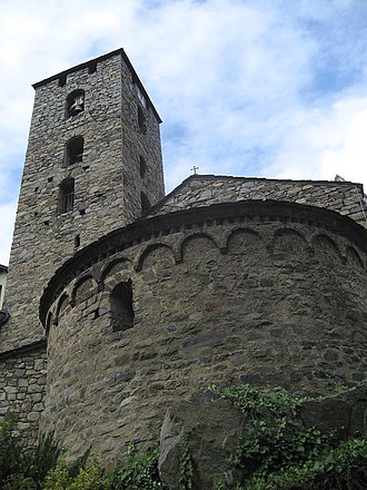 Josep Puig i Cadafalch - Image: Sant Esteve Andorra