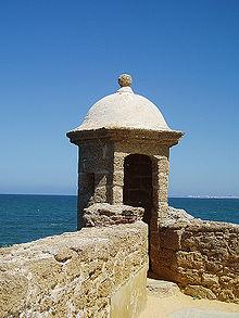 Garita en Cádiz