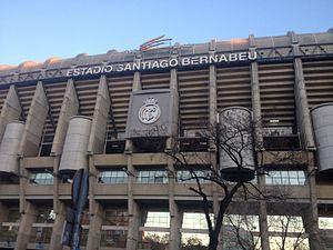 Chamartín (Madrid) - Image: Santiago Bernabeu Stadium