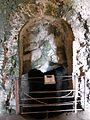 Santuario di Monte Sant'Angelo. Terrazza inferiore. Grotta oracolare 1.JPG