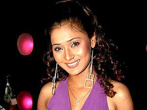 Sara Khan (TV actress) -  Sara Khan at her birthday party