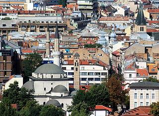 Sarajevo City in Bosnia and Herzegovina, Bosnia and Herzegovina