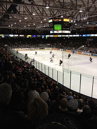 Sarnia Sting - Sting vs. Spitfires - January 2012