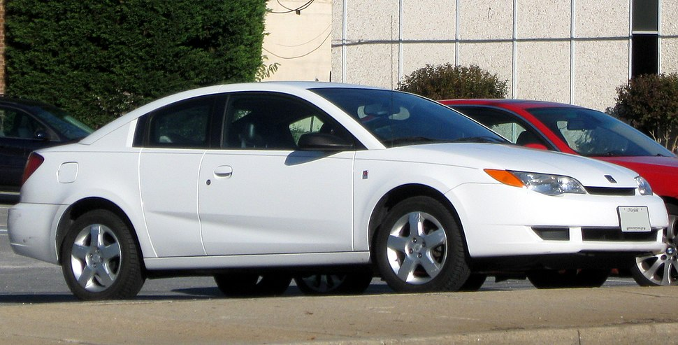 Saturn Ion coupe -- 11-5-2011