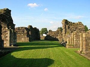 Sawley Abbey - Image: Sawley Abbey 4