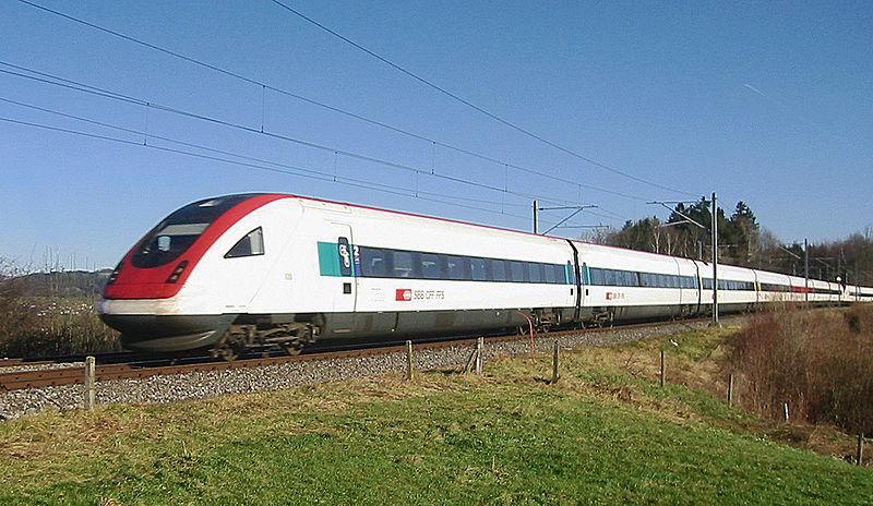 SBB запускает бесплатный интернет на поездах дальнего следования