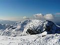 Scafell from scafell pike in snow 2010.jpg