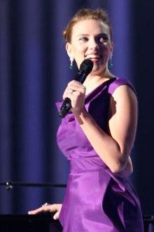 Scarlett Johansson at the 2008 Nobel Peace Prize Concert