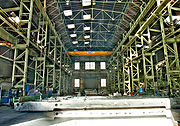 Construction hall of Schichau Seebeck Shipyard, Bremerhaven