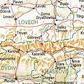 Schipka Bulgaria 1994 CIA map.jpg