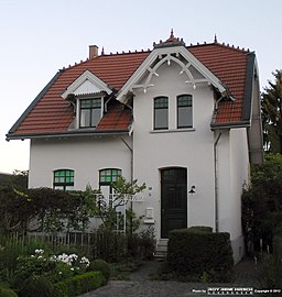 Heinrich-Lübke-Straße in Leverkusen