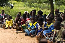 Malawi-Agriculture and industry-Schoolchildren in Malawi