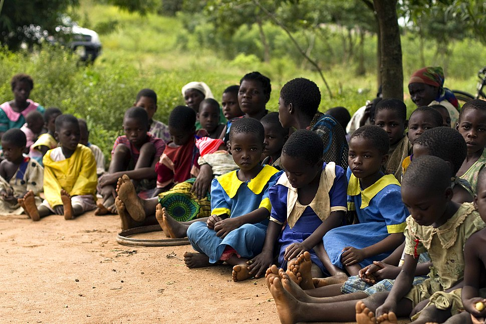 Schoolchildren in Malawi