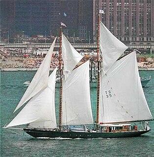 Schooner Sailing vessel